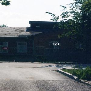 Budynek przepompowni przy ul Batorego, do roku 1995 oczyszczalnia ścieków