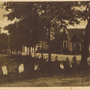 ul. Tunelowa budynek gazowni i wodociągów rok 1910