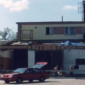 Przebudowa garaży