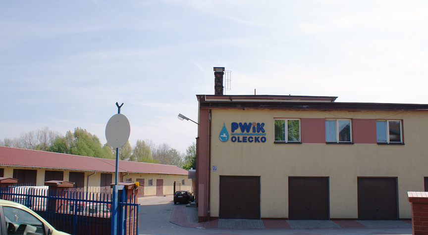 Siedziba PWiK w Olecku