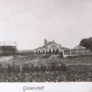Teren siedziby PWiK rok 1907