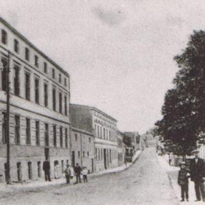ul. Kolejowa rok 1907