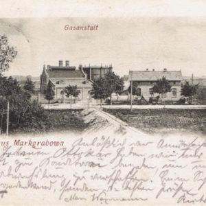 Teren PWiK wówczas gazownia ro 1907